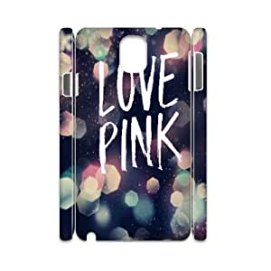 Custom New Case for Samsung Galaxy Note 3 N9000 3D, Love Pink Phone Case - HL-509594
