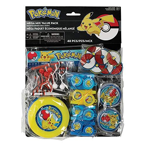 Pikachu & Friends Mega Mix Value Pack, Party -