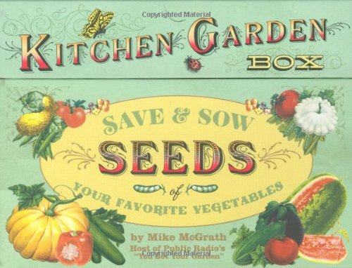 Kitchen Garden Box - Organic Seeds Sow