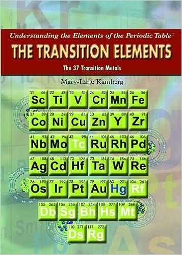 The transition elements understanding the elements of the periodic the transition elements understanding the elements of the periodic table mary lane kamberg 9781435853324 amazon books urtaz Gallery