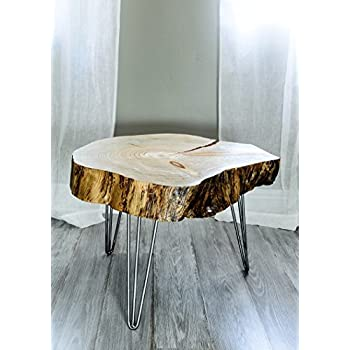 Superior Live Edge Pine Wood Slice Coffee Table Or End Table