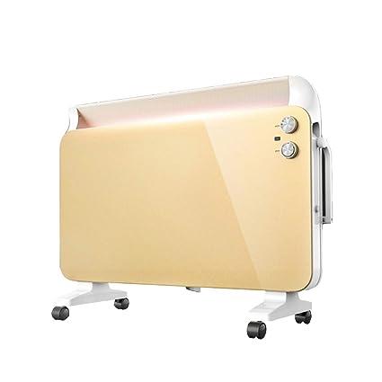LVZAIXI Hogar Calentador Cuarto de baño Calentador Impermeable Dormitorio Sala de Estar Ahorro de energía Calefacción
