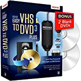 Software : Roxio Easy VHS to DVD 3 Plus - Video to DVD Converter with 2 Extra DVDs - Amazon Exclusive [Key Card]
