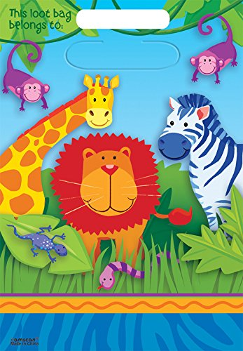 Factory Card and Party Outlet Jungle Animals Loot