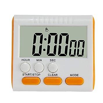 Temporizador de cocina temporizador electrónico con reloj ...