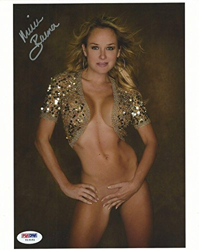 Michelle Baena Signed 8x10 Photo COA Playboy Magazine Model Autograph 2 - PSA/DNA Certified from HollywoodMemorabilia