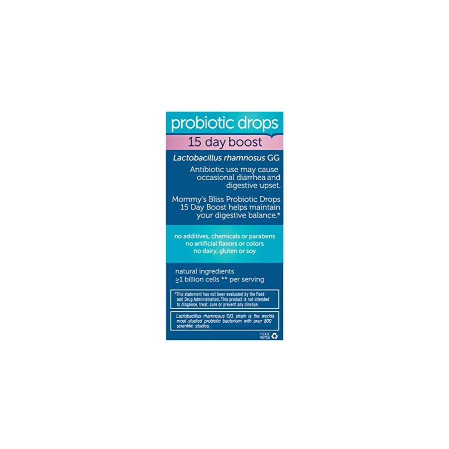 Mommy's Bliss Probiotic Powder Packs, Chocolate, 30 Count