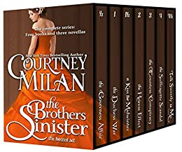 The Brothers Sinister: The Complete Boxed Set by [Milan, Courtney]
