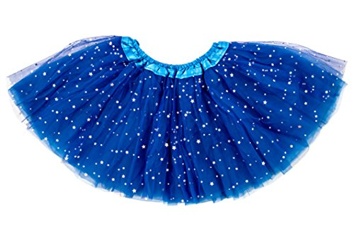 Dancina Thing 1 Thing 2 Costume Tutu 6-24 Months Royal Blue (One Sequin)