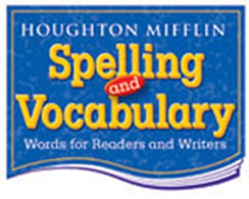 Download Houghton Mifflin Spelling and Vocabulary: Student Book (nonconsumable/ continuous stroke) Grade 3 2004 ebook