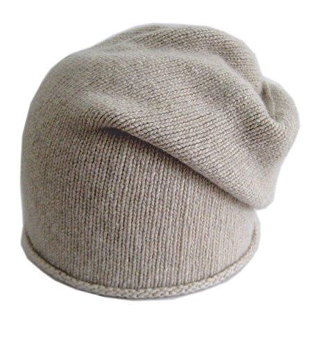 Frost Hats Italian Cashmere Slouchy Unisex Hat CSH-742-W Beige