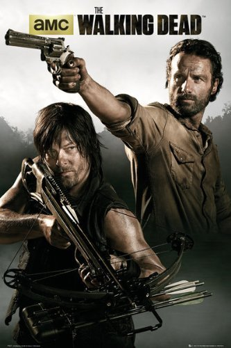 GB eye The Walking Dead Rick and Daryl Maxi Poster, Multi-Colour by GB eye