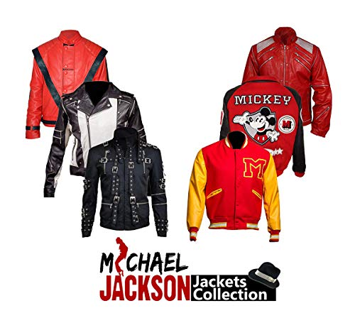Michael Jackson Thriller Red Leather Jacket ()