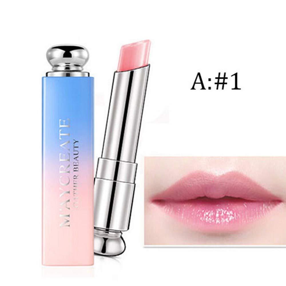 NEEKEY Beauty Makeup Warming Lipstick, Moisturizing And Moisturizing New Waterproof Lipstick