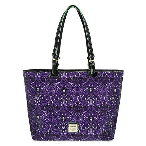 Disney Dooney & Bourke Madame Leota Haunted Mansion Shopper Tote Bag Purse
