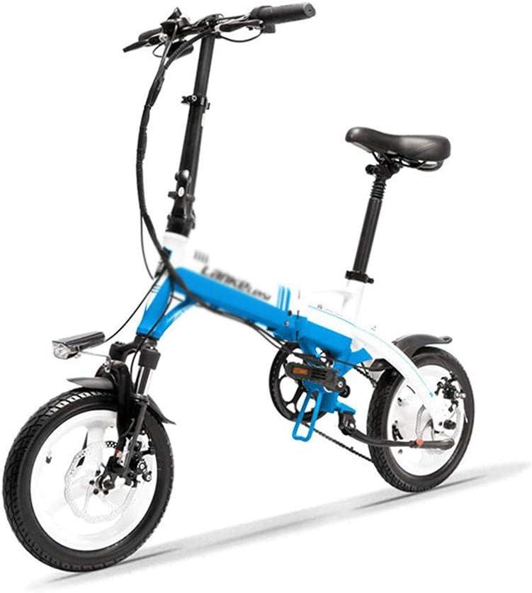 AIAIⓇ Mini Bicicleta Plegable E portátil A6, Bicicleta eléctrica ...