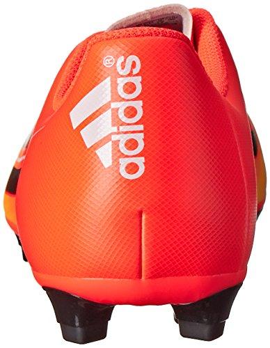 Adidas Prestaties Heren F5-vaste Grond Voetbal Cleat Zonne-rood / Zwart / Oranje Neon