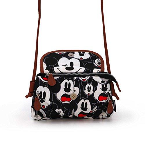 Visages Mickey Disney Classic bandouli Sac EOaOYSq