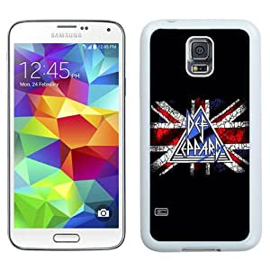High Quality Samsung Galaxy S5 I9500 Case ,Def Leppard White Samsung Galaxy S5 Cover Unique And Fashion Designed Phone Case