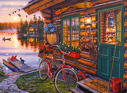 🥇 Buffalo Games Summertime by Darrell Bush Jigsaw Puzzle