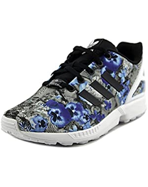 ZX Flux K Youth Round Toe Synthetic Multi Color Sneakers