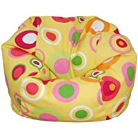 Ahh! Products Bubbly Citrus Bean Bag Chair for Dolls