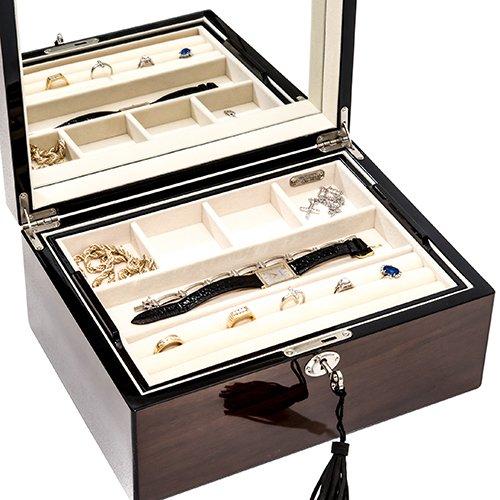 Bello Games New York, Inc. Madison Avenue Deluxe Men's/Women's Jewelry Box