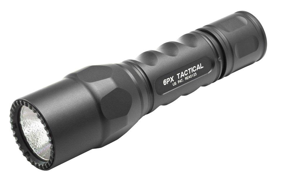 SureFire 6PX Tactical Single-Output LED - 320 Lumen Schwarz