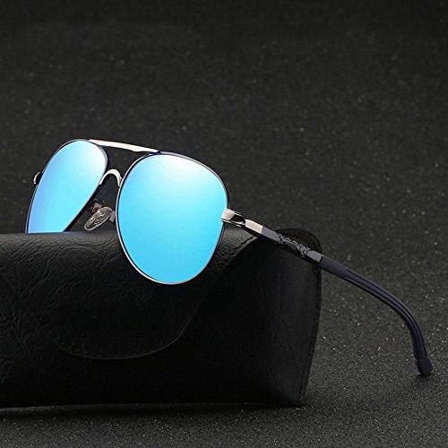 Colorées De Soleil Soleil Box Conduite Sports Lens Mode Hommes Polarisés Business Big Lunettes GHCX De E Lunettes C 1w7q5Awxg