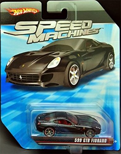 Hot Wheels Speed Machines Ferrari 599 GTB Fiorano 1:64 Scale
