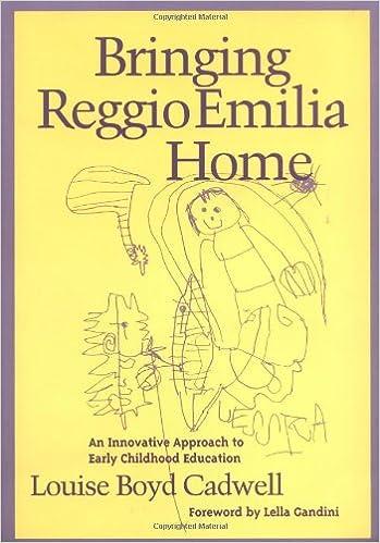 Amazon com: Bringing Reggio Emilia Home: An Innovative