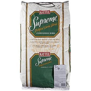 Kaytee Supreme Bird Food for Cockatiels, 25-lb bag