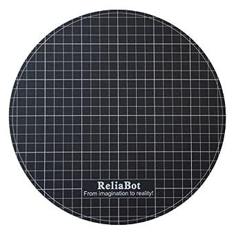 ReliaBot Superficie especial adhesión de Diámetro 238mm para Cama Caliente Redonda de Impresora 3D (Pegatina Mate)