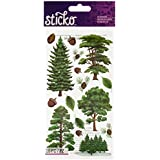 Sticko Majestic Trees Stickers