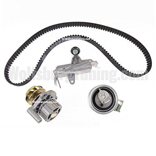 OEM VW Audi A4 B6 1.8T B5 Passat Timing Belt Kit with Metal Impeller Water Pump WolfsburgTuning.com
