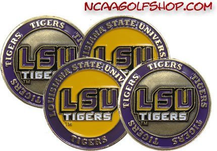 (4) LSU Tigers Golf Ball ()