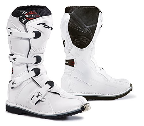 Forma Youth Cougar Boots (White, 39 EU/7 US)