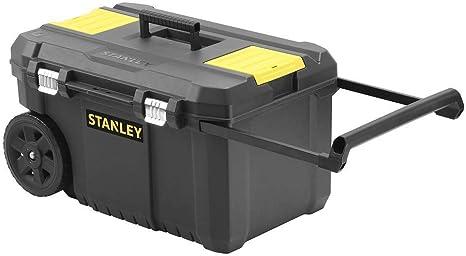 STANLEY STST1-80150 - Arcón para herramientas con cierres metálicos, 66.5 x 40.4 x 34.4 cm, capacidad 40 kg: Amazon.es: Bricolaje y herramientas