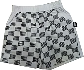 Jojo White Short Shorts For Boys