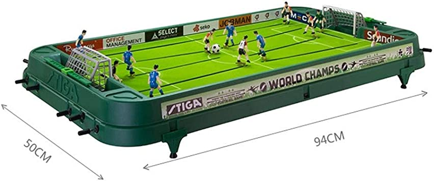 Futbolines Mesa de Juego de fútbol de Escritorio Juguete Doble Entre Padres e Hijos educativa Tablero de Juego de Hockey de Mesa Muchacho de los niños interactivos: Amazon.es: Hogar