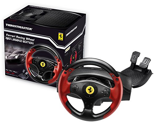 Buy Thrustmaster Ferrari Spider Racing Wheel for Xbox One at Argos ...
