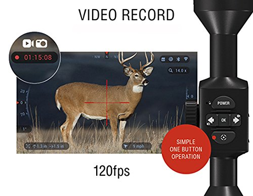 ATN X-Sight 4K Pro Smart Day/Night Rifle Scope - Video Record