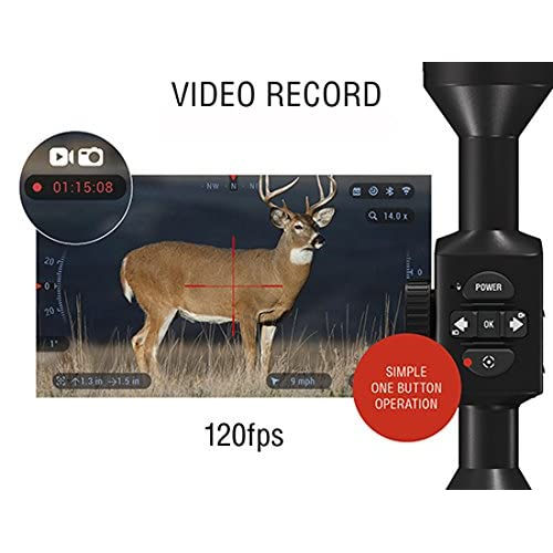 ATN X-Sight 4K Pro Smart Day/Night Rifle Scope - Ultra HD 4K