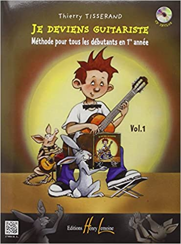 Book's Cover of Je deviens guitariste Volume 1 (Français) Broché – 1 juillet 2004