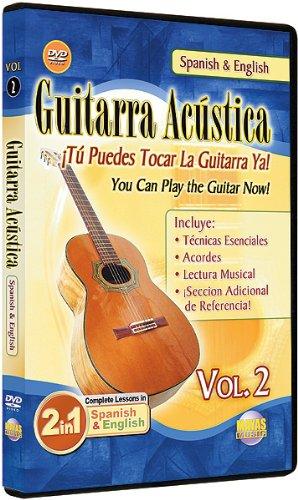 DVD : Guitarra Acustica 2: 2 in 1 Bilingual (DVD)