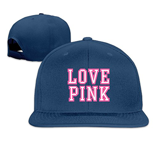 JUNJ Unisex Love Pink Leisure Snapback - Tumblr Oakley