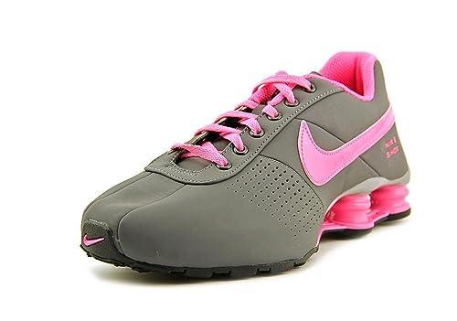 size 40 155d7 ac327 Nike Shox Deliver - Big Kid de PNT - (GS) Zapatillas de Running de la niña  jóvenes: Amazon.es: Zapatos y complementos
