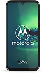 "Motorola Moto G8+ Plus (64GB, 4GB) 6.3"", 48 MP Camera, 4000mAh Battery, Dual SIM GSM Unlocked (at&T/T-Mobile/MetroPCS/Cricket/H2O) XT2019-2 - International Version (Blue, 64 GB) (PAGF0025SV)"