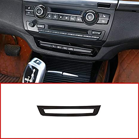 Glossy Black ABS Plastic For BMW X5 E70 2008-2013 Car ABS Driving Aid Control Frame Trim Accessories