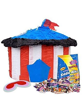 Circus Tent Pinata Kit  sc 1 st  Amazon.com & Amazon.com : Circus Tent Pinata Kit : Beauty